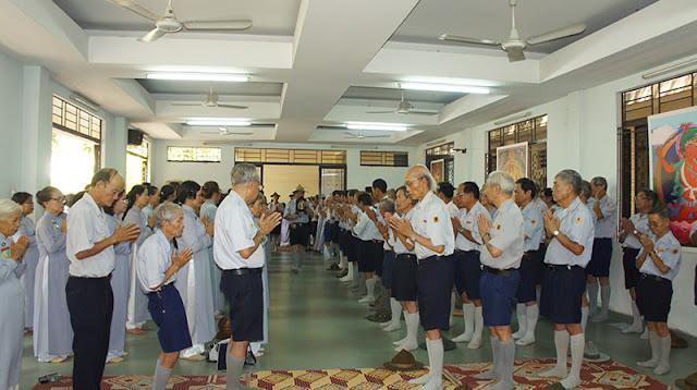 DSC06339 Lễ Hiệp kỵ   Lễ Huý Nhật Cư sĩ Sáng lập viên GĐPT Việt Nam   Tâm Minh Lê Đình Thám