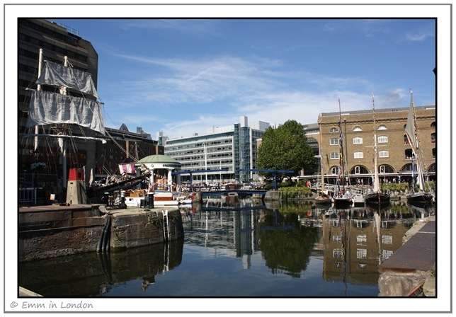 The Classic Boat Festival at St Katharine's Dock
