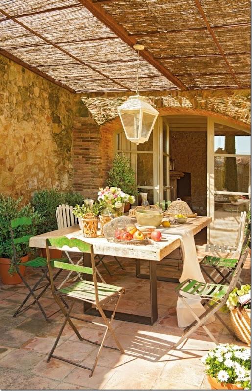 case e interni - cas a campagna - stile rustico country  - Spagna (12)