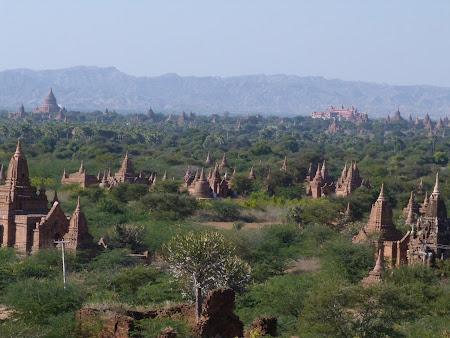Mii de temple in Bagan