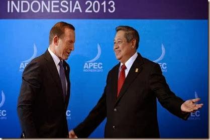presiden sby tangan terbuka dengan australia