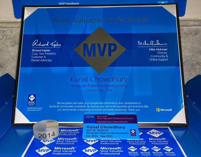Kunal Chowdhury (Microsoft Windows Platform Development MVP)