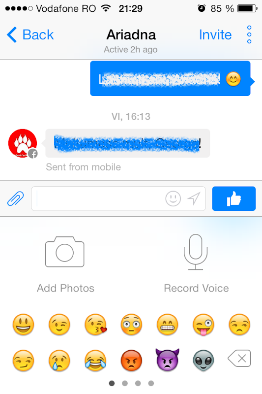 Facebook Messenger 3.0 iOS