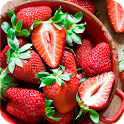 Crazy about Strawberry LWP icon