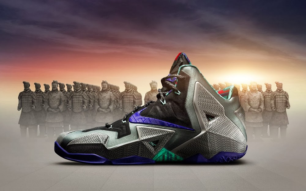 7779bf475ade Release Reminder  LeBron XI Terracotta Warrior Drops Tomorrow ...