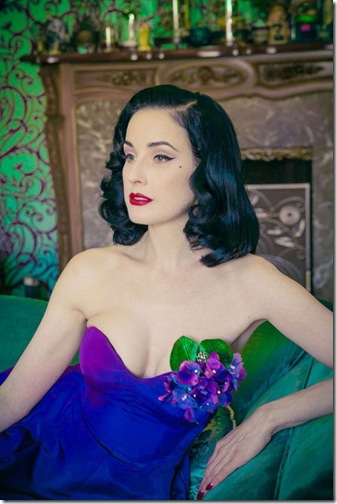 Dita Von Teese - LA Weekly, May 4-10, 2012