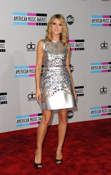 Heidi Klum 2011 American Music Awards Arrivals