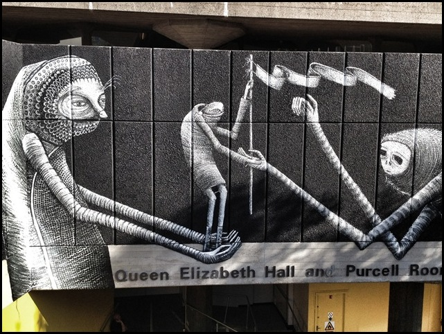 Phlegm Queen Elizabeth Hall Southbank