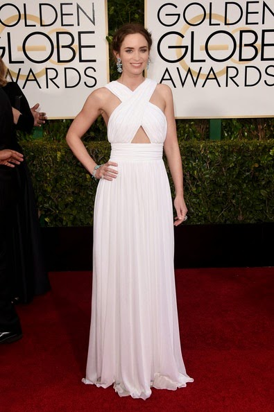 Emily Blunt attends the 72nd Annual Golden Globe Awards