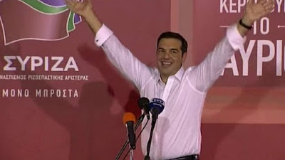 Thủ tướng Tsipras thắng cử tại Hy Lạp