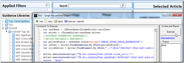 Dinis Cruz Blog: Controlling Selenium and Chrome WebDriver from a C#