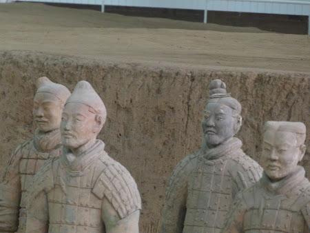 Obiective turistice China: Armata de Teracota din Xi'an