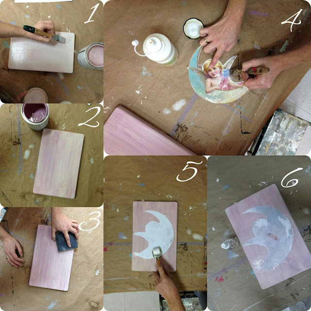 transfer chalk paint