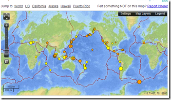 Avian Flu Diary Usgs New Real Time Earthquake Map