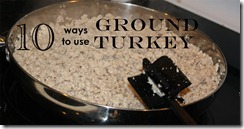 10 Ground Turkey Recipes
