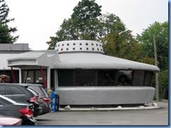 8624 Niagara Falls - Flying Saucer Restaurant - Roadside America attraction