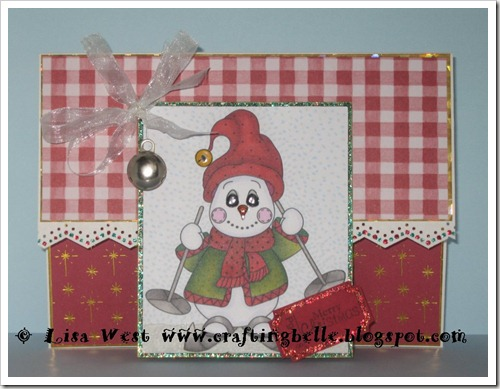 Cute Snowman Christmas Card (10)