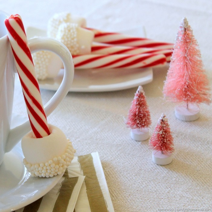 Marshmallow & Peppermint Stir Sticks via homework (6)