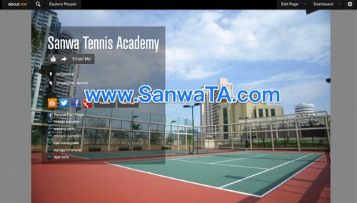 Sanwa Tennis Academy  singapore | about me