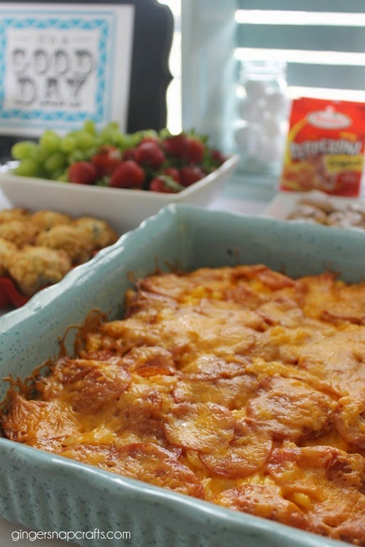 breakfast casserole with #pepitup