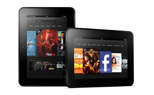 7-inch Amazon Kindle Fire HD
