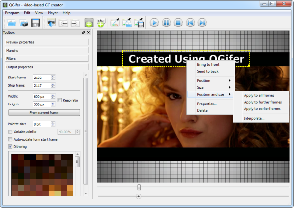 QGifer is a Fantastic Video to GIF Converter - Instant Fundas
