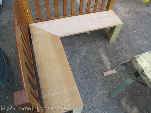 DIY Kids Corner Bench