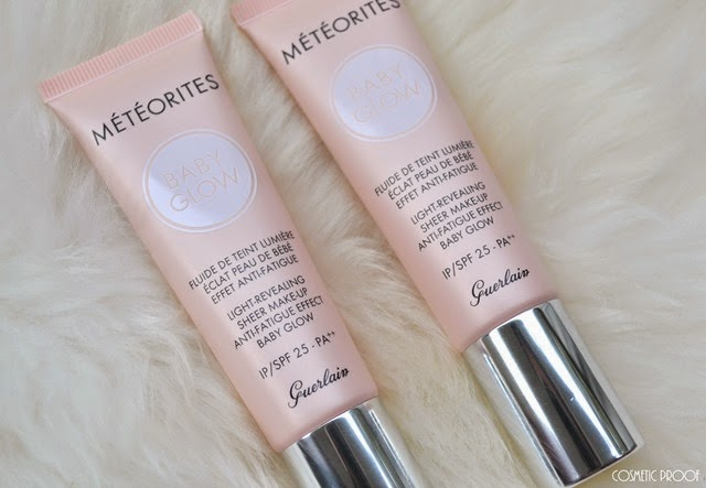 Guerlain Meteorites Baby Glow Light Revealing Sheer Makeup Anti Fatigue Effect Baby Glow Review Swatches (2)