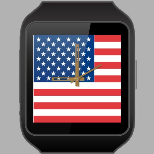 JJW USA Flag Watch Face