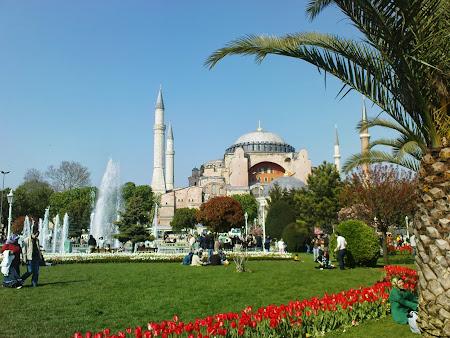 Obiective turistice Istanbul: Sf. Sofia