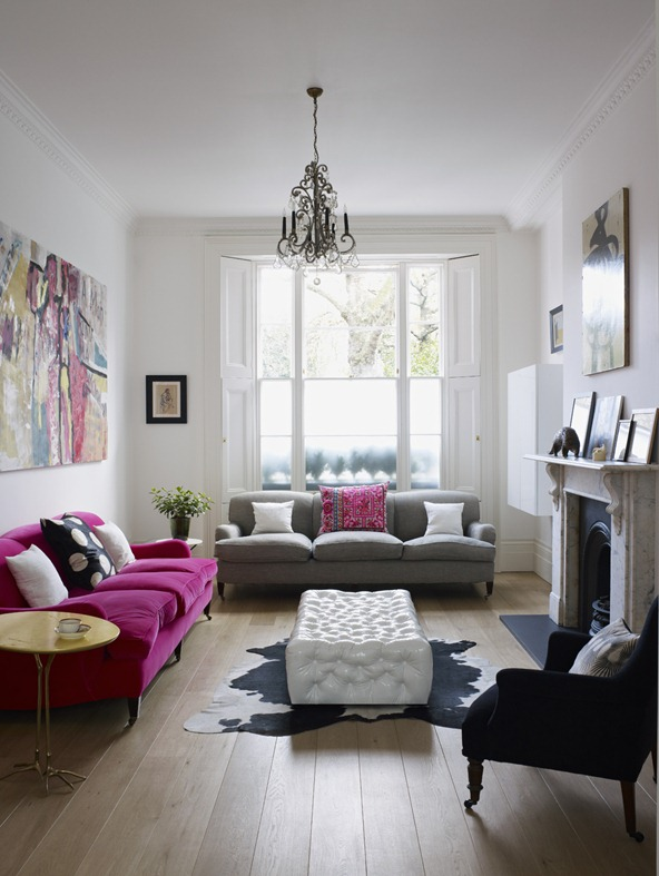 Famous Interior Designers Work decordemon: bright and modern 1840's london town house