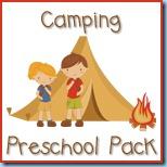 Camping Preschool Pack