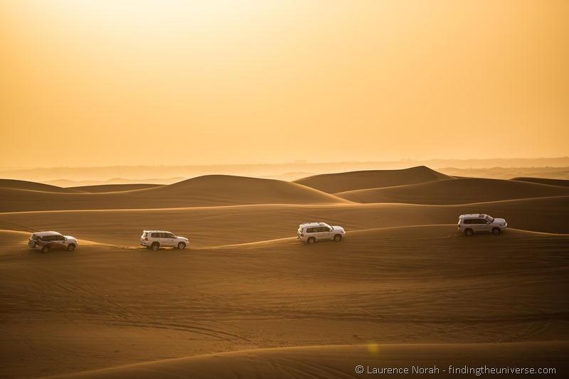 Things to do in Dubai: Dune bashing