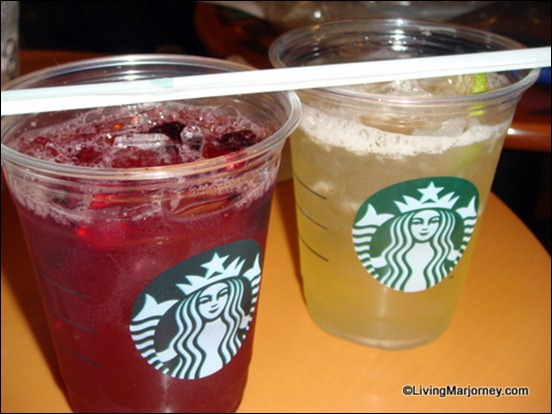 Starbucks Refreshers: Very Berry Hibiscus and Cool Lime