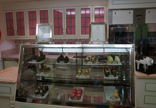 Cupcake Cupboard on Freedom of the Seas