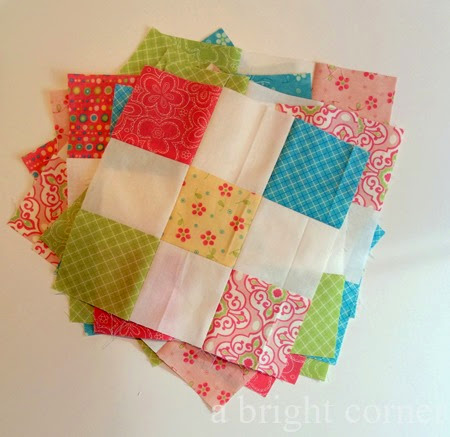 Nine patch blocks