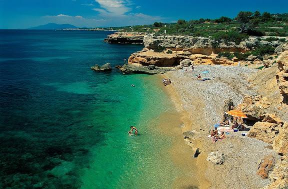 Platja de la Llenya L'Ametlla de Mar, Baix Ebre, Tarragona 1997
