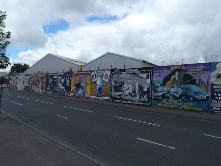 Obiective turistice Belfast: picturi murale catolice
