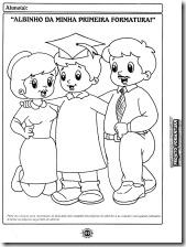 Dibujo De Graduados Nios Dibujos Para Colorear Nios Jidiworkoutco