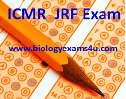 Biology Exams 4 U: ICMR JRF Exam Biochemistry Questions and