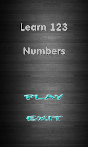 玩免費益智APP|下載Learn 123 Numbers app不用錢|硬是要APP
