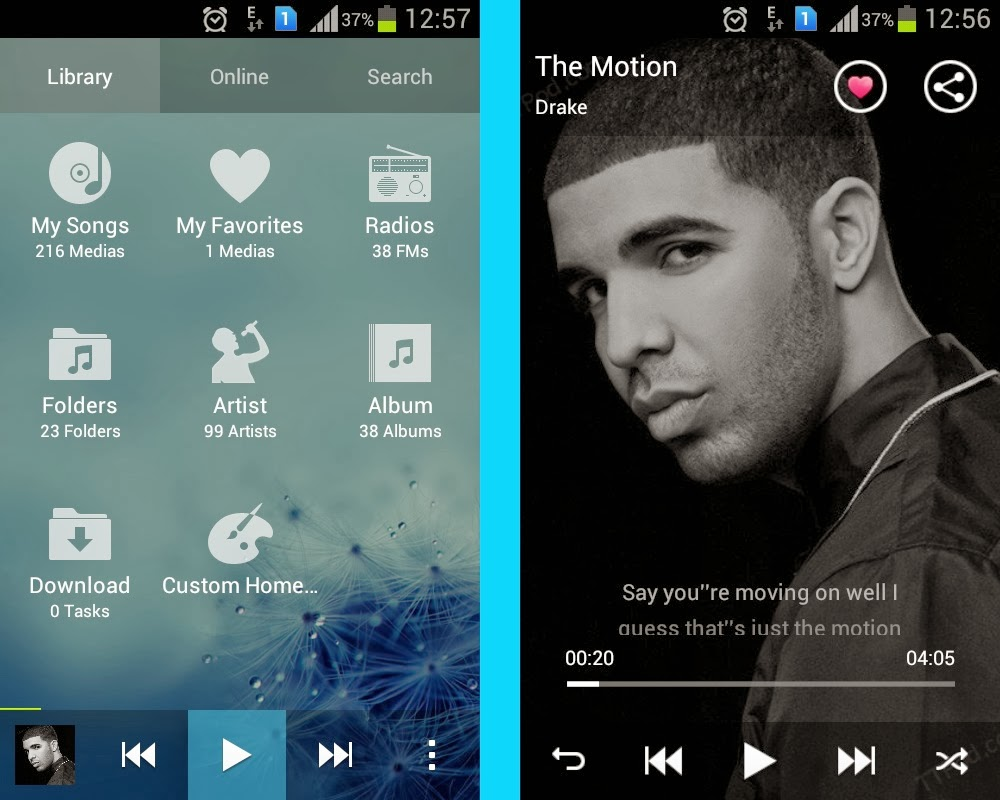 Android apps and tips by Zhadow: ttpod- The only music