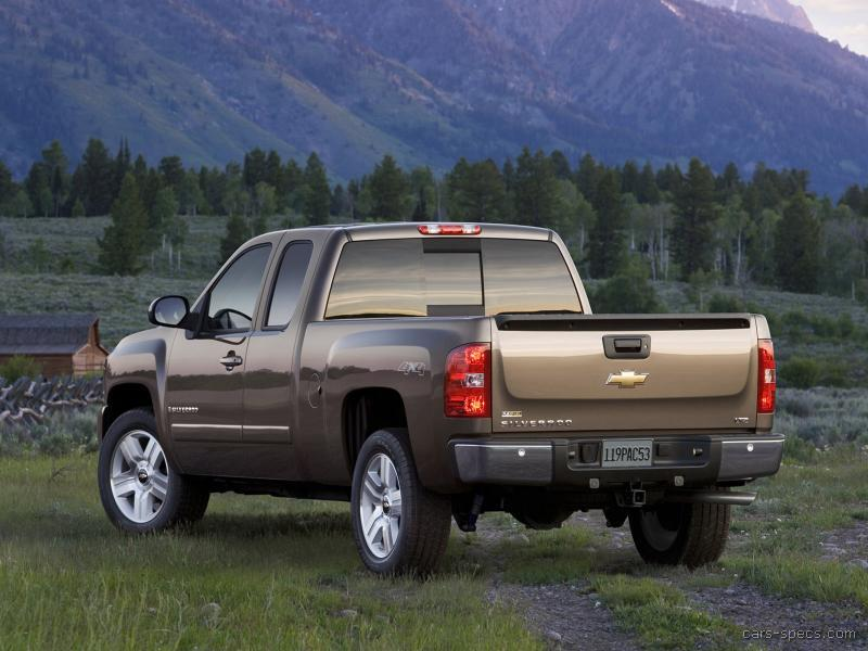2007 chevrolet silverado 1500 extended cab specifications pictures prices. Black Bedroom Furniture Sets. Home Design Ideas