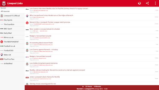 【免費運動App】Liverpool Links-APP點子