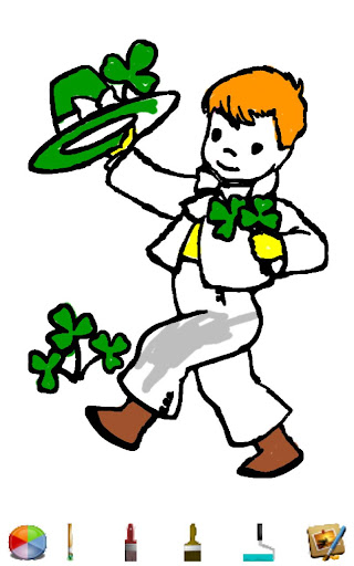 St Pattys Day Coloring HD