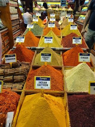 Epices au bazar Egyptien à Istanbul