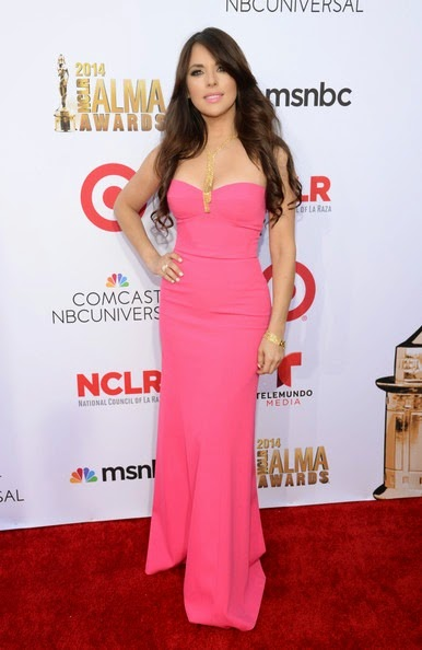 Vanessa Villela attends the 2014 NCLR ALMA Awards