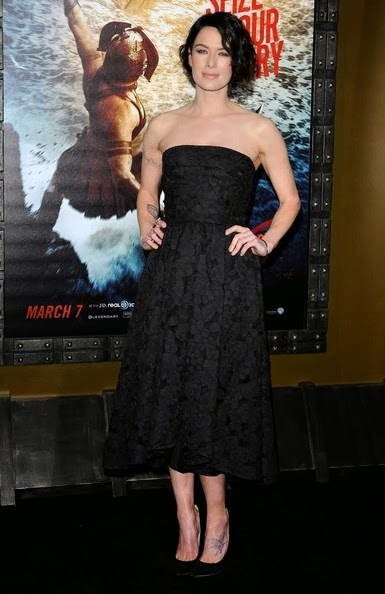 Lena Headey 300 Rise Empire World Premiere