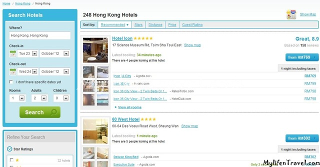 How to online booking hotel 11
