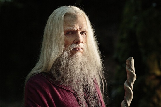 Colin Morgan is Merlin in The Diamond of the Day